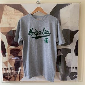 Tops - Michigan State University Spartans oversized tee